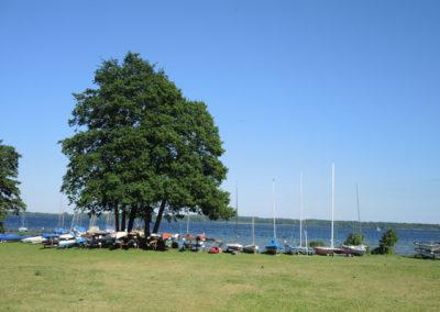 Seeufer Plöner See Campingplatz Godau