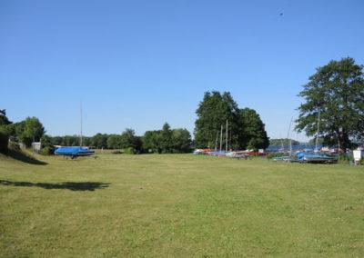 Wiese am See Campingplatz Godau