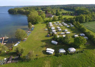 Luftbild Camping Godau