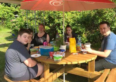 Picknick Camping Godau