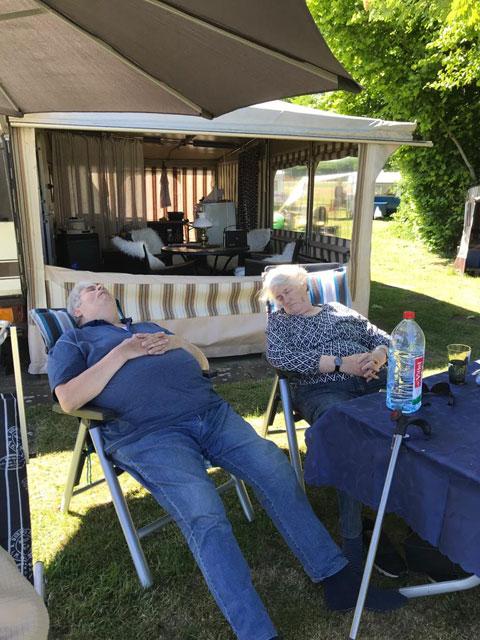 Camping Godau Entspannung