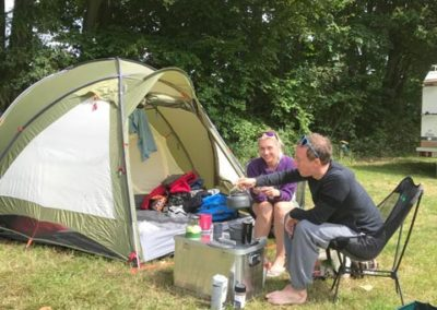 Zelten Camping Godau